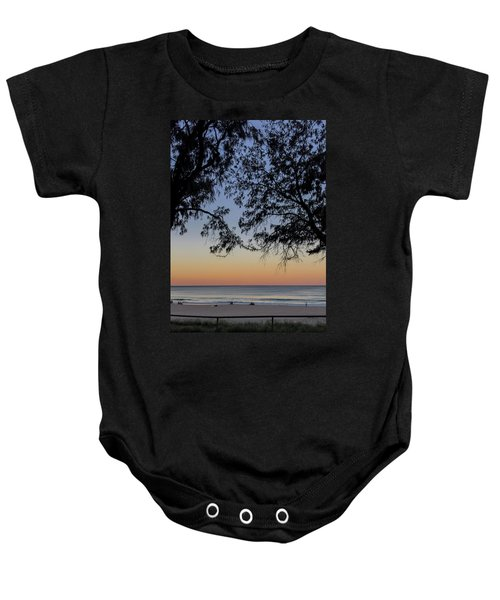 A Beautiful Place To Be Baby Onesie