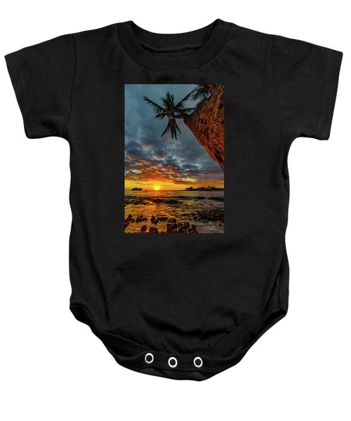 A Typical Wednesday Sunset Baby Onesie
