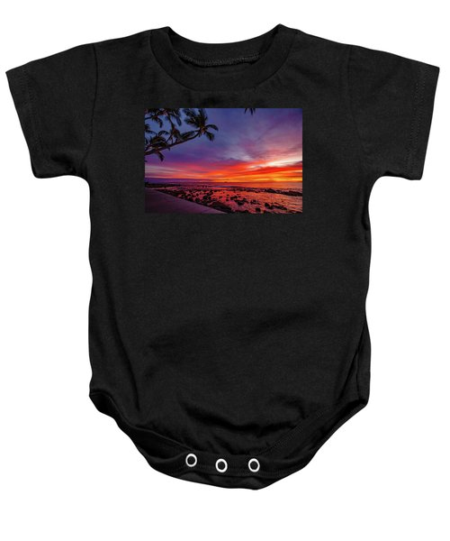 After Sunset Vibrance Baby Onesie