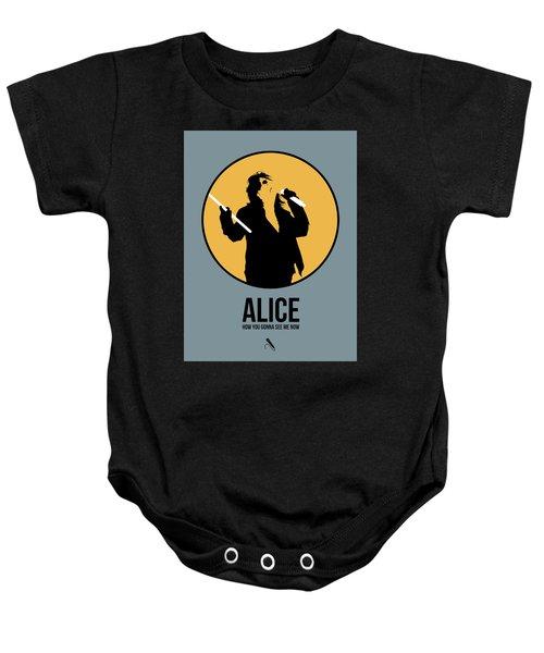 Alice Cooper II Baby Onesie
