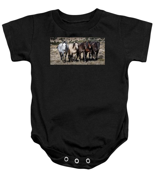 All In A Row Baby Onesie
