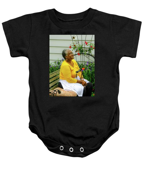 And Still I Rise Baby Onesie