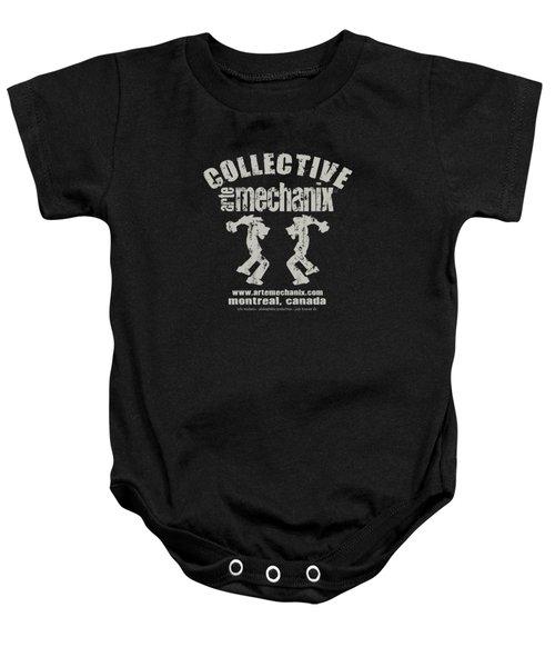 arteMECHANIX COLLECTIVE GRUNGE Baby Onesie