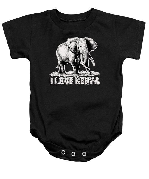 African Giant Baby Onesie