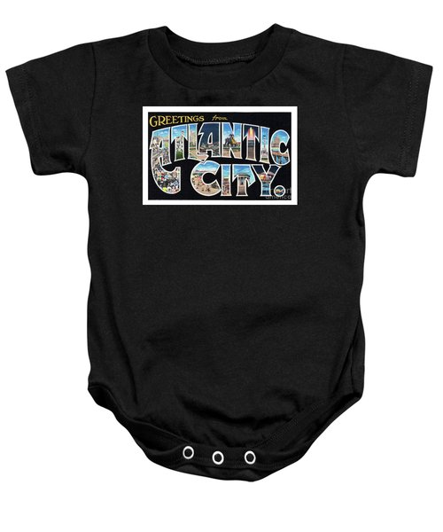 Atlantic City Greetings #2 Baby Onesie