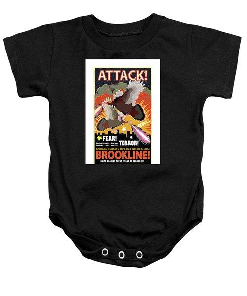 Attack Baby Onesie