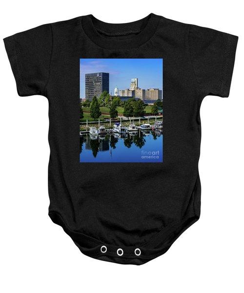 Augusta Ga Savannah River 3 Baby Onesie