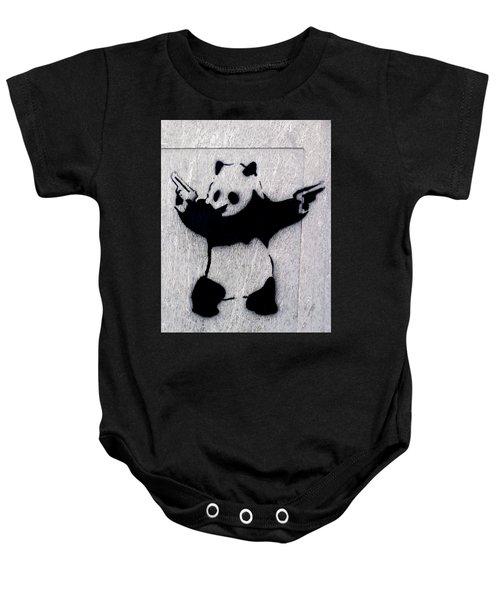 Banksy Panda Baby Onesie