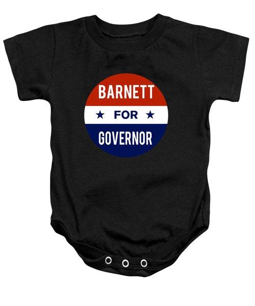 Barnett For Governor 2018 Baby Onesie