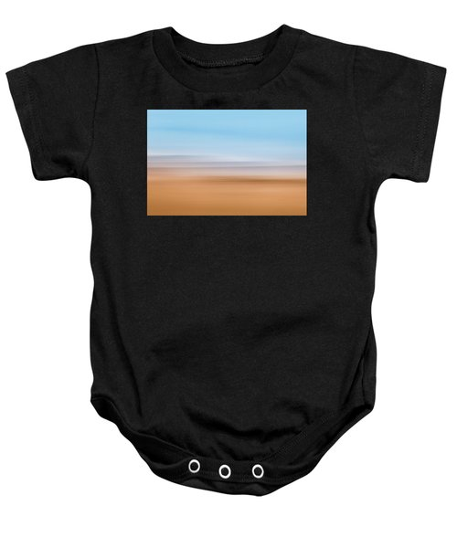 Beach Abstract Baby Onesie