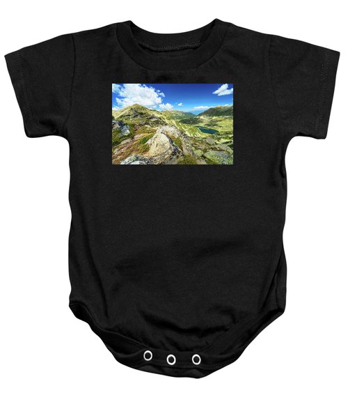 Beautiful Landscape Of Pirin Mountain Baby Onesie