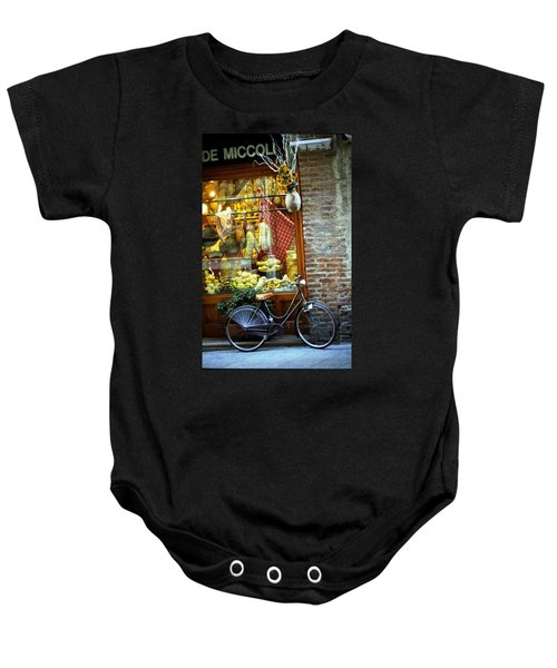 Bike In Sienna Baby Onesie