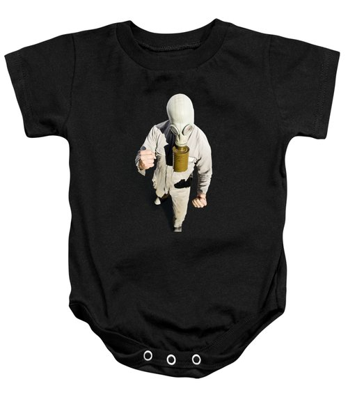 Baby Onesie featuring the photograph Biohazard Battle by Jorgo Photography - Wall Art Gallery