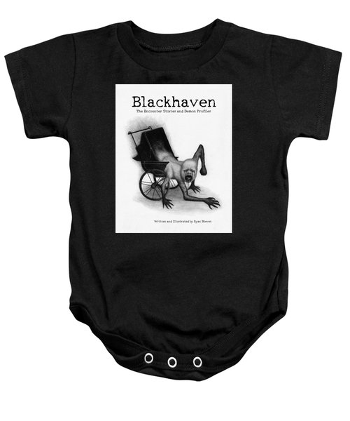 Blackhaven The Encounter Stories And Demon Profiles Bookcover, Shirts, And Other Products Baby Onesie