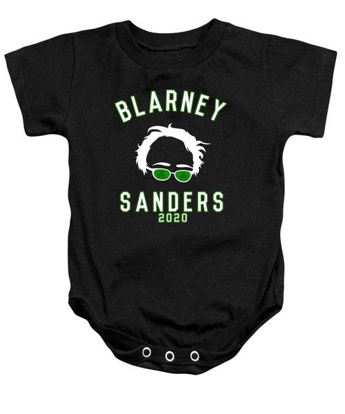 Blarney Sanders 2020 Bernie St Patricks Day Baby Onesie