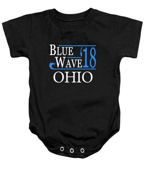 Blue Wave Ohio Vote Democrat 2018 Baby Onesie