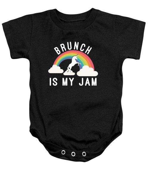 Brunch Is My Jam Baby Onesie