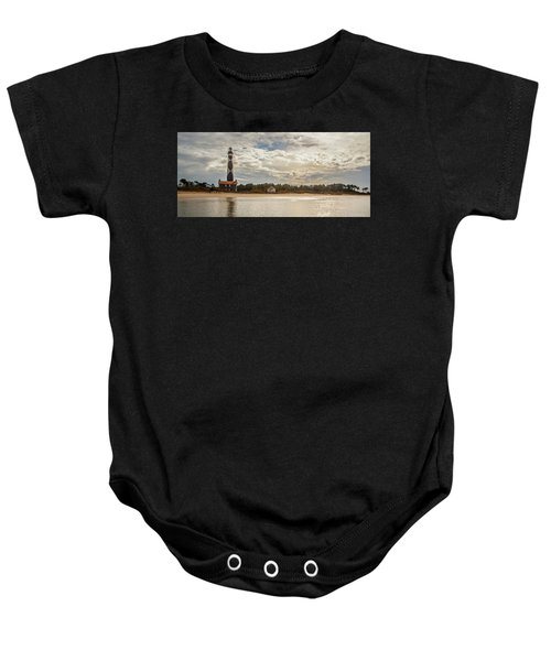 Cape Lookout Lighthouse No. 3 Baby Onesie