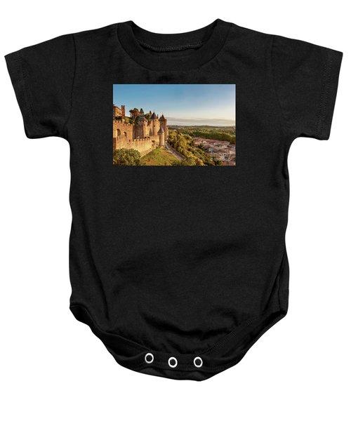 Carcassonne Citadel Baby Onesie