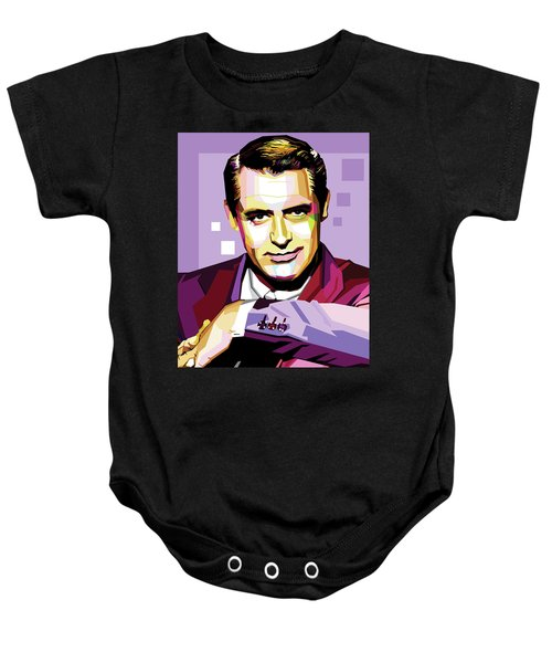 Cary Grant Pop Art Baby Onesie