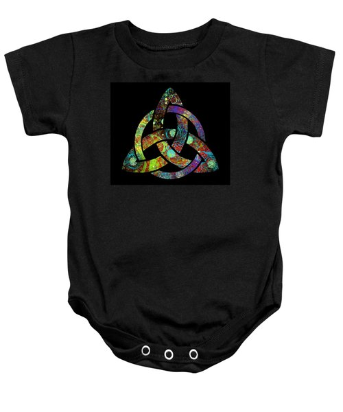 Celtic Triquetra Or Trinity Knot Symbol 3 Baby Onesie