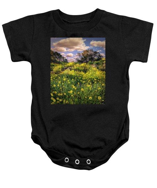Chatsworth Wildflower Bloom Baby Onesie