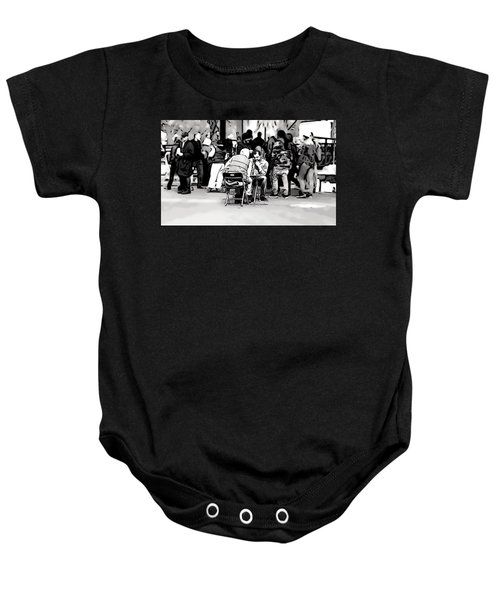 Chess Match Union Square  Baby Onesie