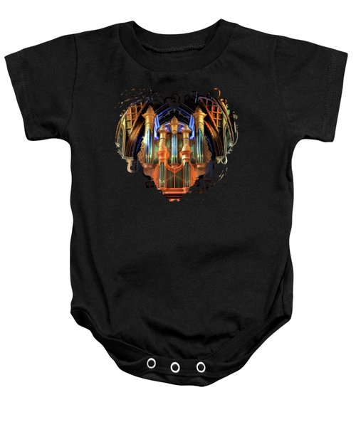 Chicago Holy Name Cathedral Organ Baby Onesie