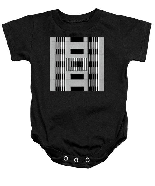 City Grids 64 Baby Onesie