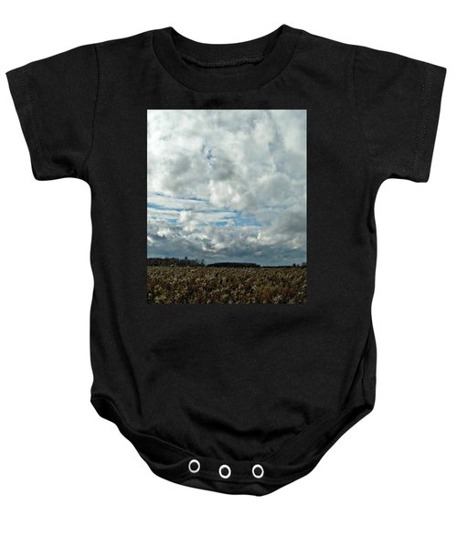 Clear Cloudy Day Baby Onesie