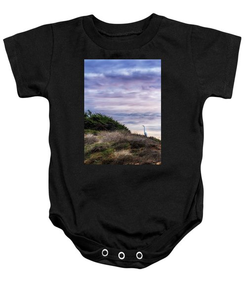 Cliffside Watcher Baby Onesie