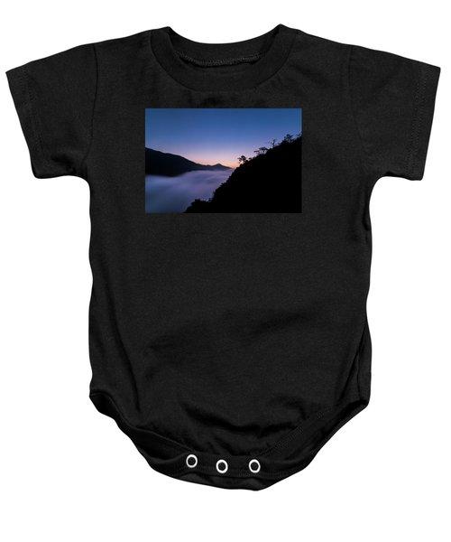 Cloud River Twilight Baby Onesie