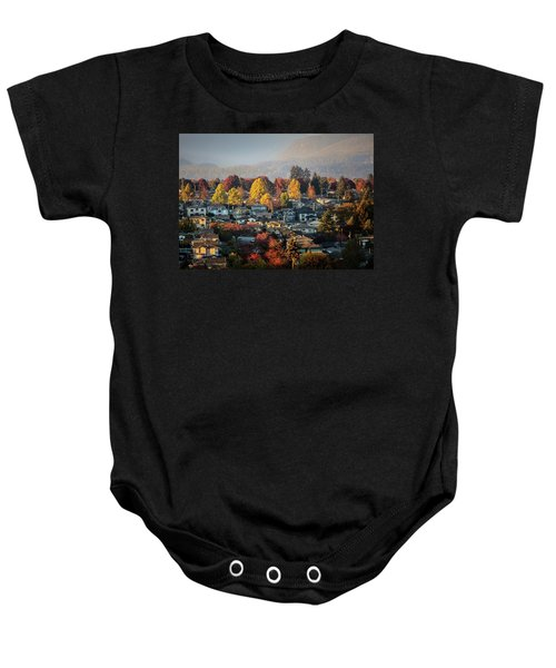 Colours Of Autumn Baby Onesie