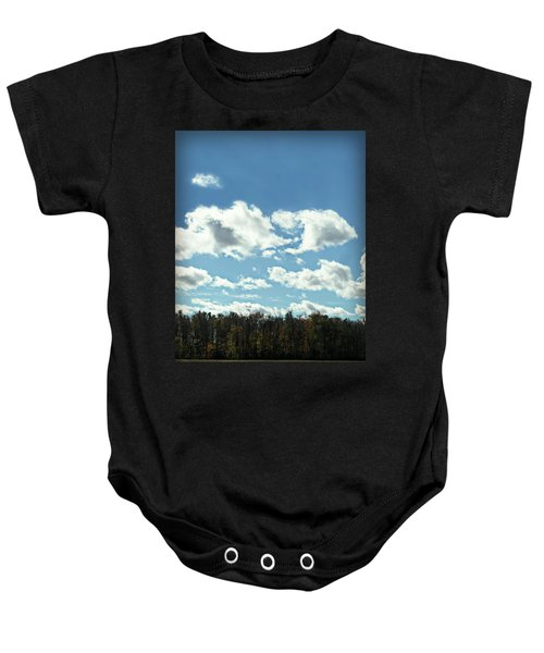 Country Atumn Curves 9 Baby Onesie