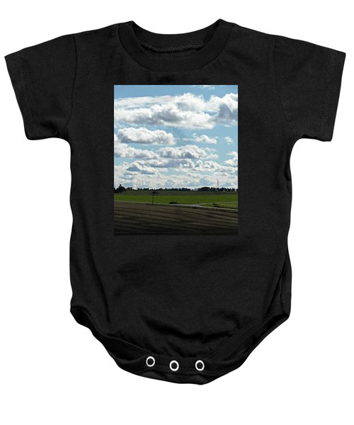 Country Autumn Curves 4 Baby Onesie