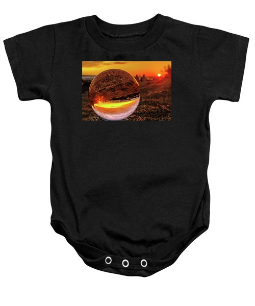 Baby Onesie featuring the photograph Crystal Ball by John Bauer