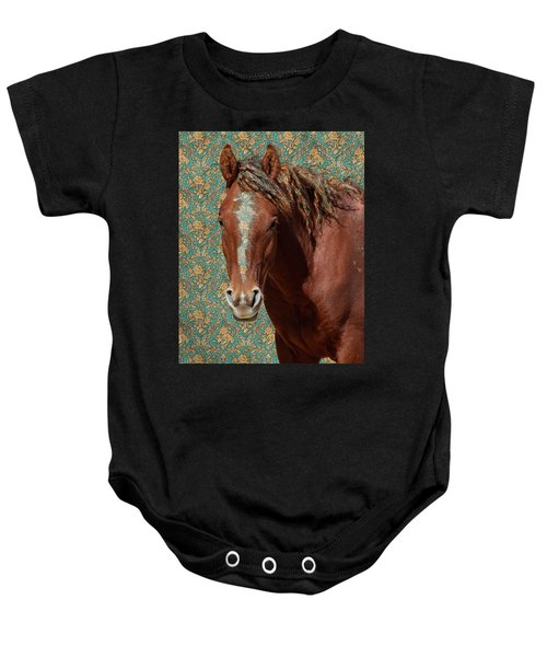 Baby Onesie featuring the photograph Curly by Mary Hone