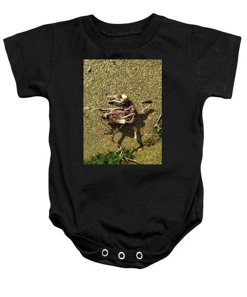 Death Shows Us We Are Nothing But Bones Baby Onesie