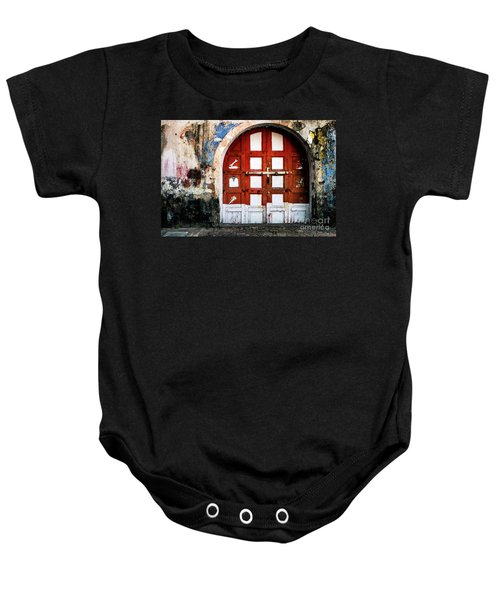 Doors Of India - Garage Door Baby Onesie
