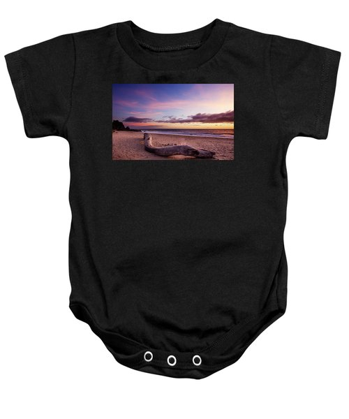 Driftwood At Sunset Baby Onesie
