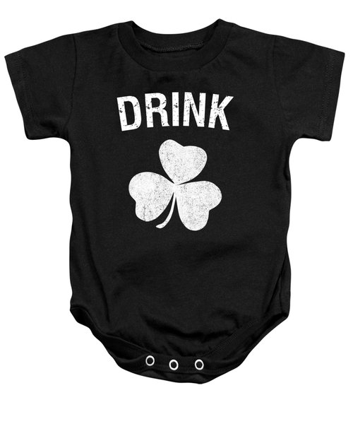 Drink St Patricks Day Group Baby Onesie
