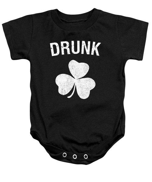 Drunk St Patricks Day Group Baby Onesie