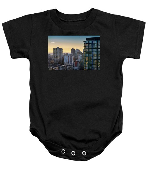 Dusky Hues Over The Pacific Baby Onesie