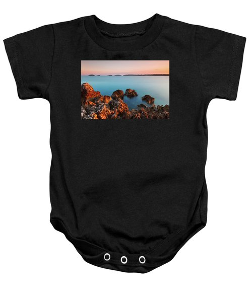 Ember And Blue Baby Onesie