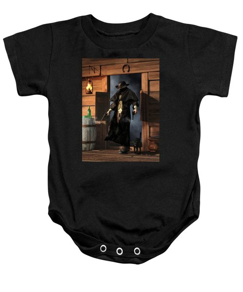 Enter The Outlaw Baby Onesie