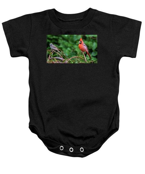 Envy - Northern Cardinal Regal Baby Onesie