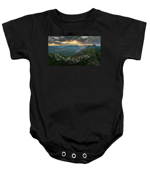 Epic Linville The Chimneys Baby Onesie