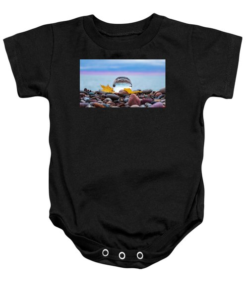 Eye Of The Calm Baby Onesie