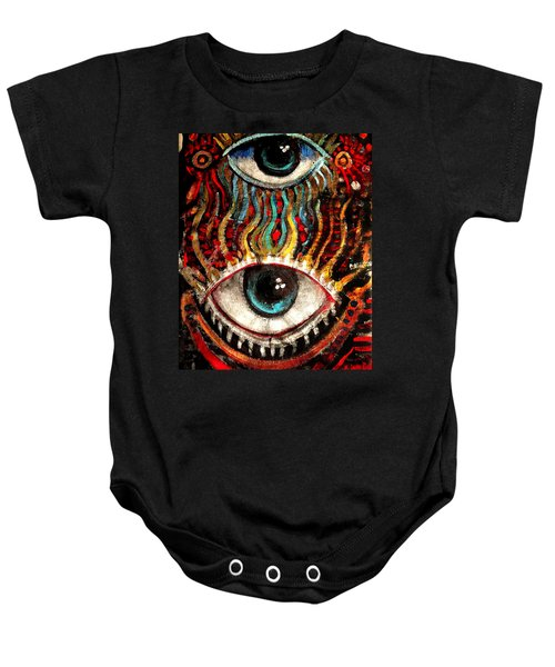 Eyes On You Baby Onesie