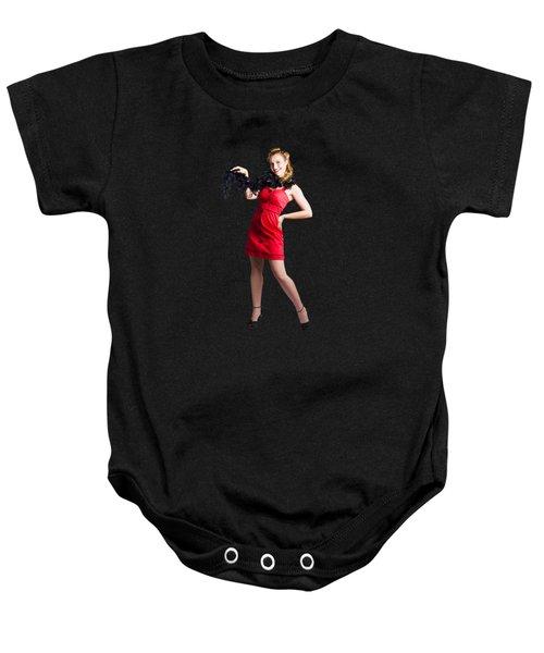 Female Cabaret Performer Baby Onesie